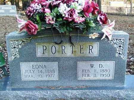 PORTER, W. D. - Perry County, Arkansas | W. D. PORTER - Arkansas Gravestone Photos