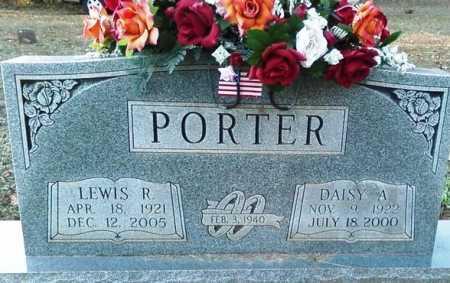 PORTER, LEWIS R. - Perry County, Arkansas | LEWIS R. PORTER - Arkansas Gravestone Photos