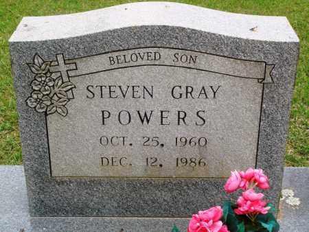 POWERS, STEVEN GRAY - Perry County, Arkansas | STEVEN GRAY POWERS - Arkansas Gravestone Photos