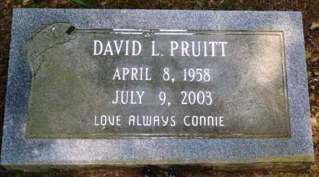 PRUITT, DAVID L - Perry County, Arkansas | DAVID L PRUITT - Arkansas Gravestone Photos