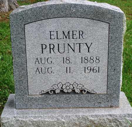 PRUNTY, ELMER - Perry County, Arkansas   ELMER PRUNTY - Arkansas Gravestone Photos