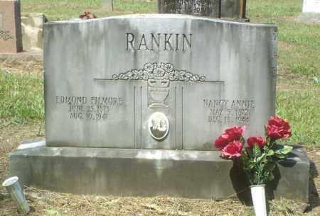 RANKIN, EDMOND FILMORE - Perry County, Arkansas | EDMOND FILMORE RANKIN - Arkansas Gravestone Photos