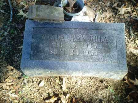 RHEA, WANDA JEAN - Perry County, Arkansas   WANDA JEAN RHEA - Arkansas Gravestone Photos