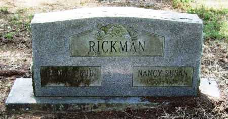 RICKMAN, NANCY SUSAN - Perry County, Arkansas | NANCY SUSAN RICKMAN - Arkansas Gravestone Photos