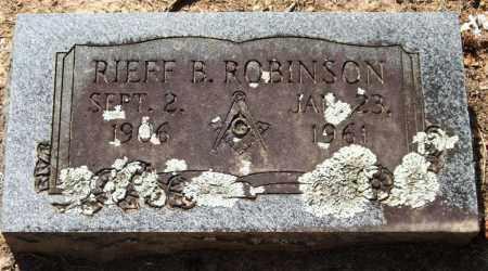 ROBINSON, RIEFF B. - Perry County, Arkansas | RIEFF B. ROBINSON - Arkansas Gravestone Photos