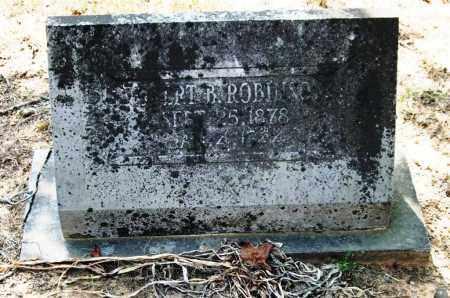 ROBINSON, ROBERT B. - Perry County, Arkansas | ROBERT B. ROBINSON - Arkansas Gravestone Photos