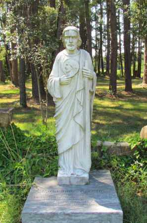 *SAINT JUDE APOSTLE STATUE,  - Perry County, Arkansas |  *SAINT JUDE APOSTLE STATUE - Arkansas Gravestone Photos