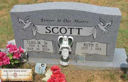SCOTT SR, CLEO M - Perry County, Arkansas | CLEO M SCOTT SR - Arkansas Gravestone Photos