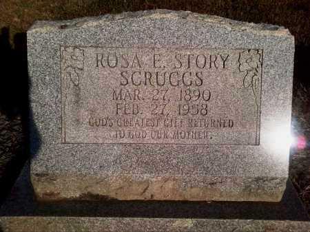 SCRUGGS, ROSA E. - Perry County, Arkansas   ROSA E. SCRUGGS - Arkansas Gravestone Photos