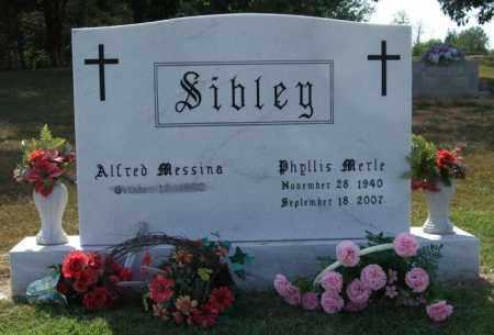 SIBLEY, PHYLLIS MERLE - Perry County, Arkansas | PHYLLIS MERLE SIBLEY - Arkansas Gravestone Photos