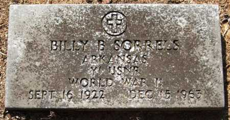 SORRELLS  (VETERAN WWII), BILLY B - Perry County, Arkansas | BILLY B SORRELLS  (VETERAN WWII) - Arkansas Gravestone Photos