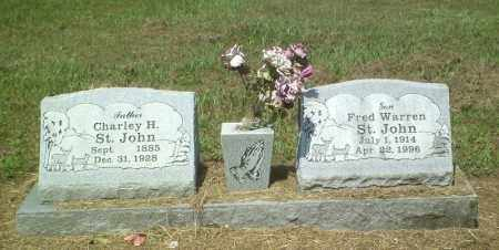 ST. JOHN, FRED WARREN - Perry County, Arkansas   FRED WARREN ST. JOHN - Arkansas Gravestone Photos