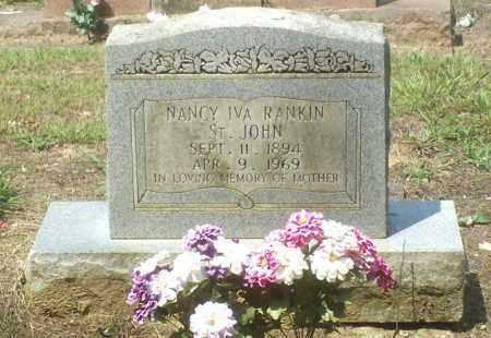 ST. JOHN, NANCY IVA - Perry County, Arkansas | NANCY IVA ST. JOHN - Arkansas Gravestone Photos