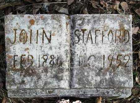 STAFFORD, JOHN - Perry County, Arkansas | JOHN STAFFORD - Arkansas Gravestone Photos