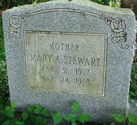 STEWART, MARY A - Perry County, Arkansas | MARY A STEWART - Arkansas Gravestone Photos
