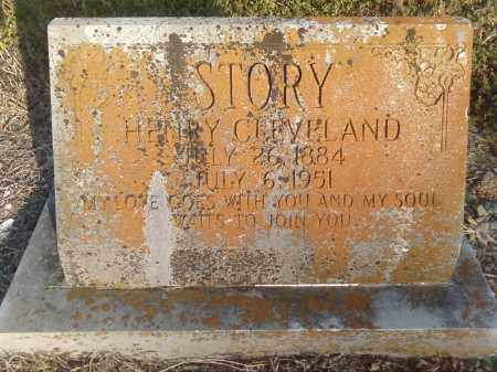STORY, HENRY CLEVELAND - Perry County, Arkansas | HENRY CLEVELAND STORY - Arkansas Gravestone Photos