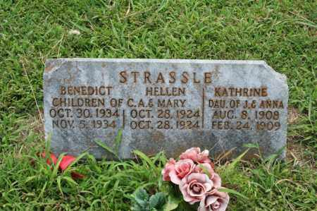 STRASSER, BENEDICT - Perry County, Arkansas | BENEDICT STRASSER - Arkansas Gravestone Photos