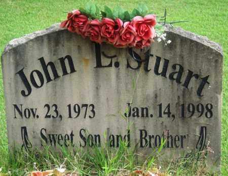STUART, JOHN L - Perry County, Arkansas   JOHN L STUART - Arkansas Gravestone Photos