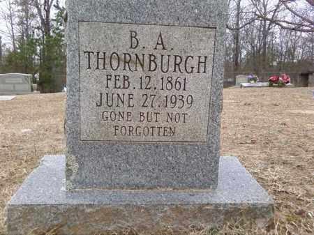 THORNBURG, BENJAMIN ASBURY - Perry County, Arkansas   BENJAMIN ASBURY THORNBURG - Arkansas Gravestone Photos