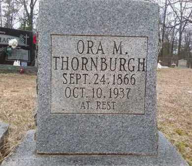 THORNBURG, ORA M. - Perry County, Arkansas | ORA M. THORNBURG - Arkansas Gravestone Photos