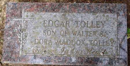 TOLLEY, EDGAR - Perry County, Arkansas | EDGAR TOLLEY - Arkansas Gravestone Photos