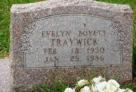 BOYETT TRAYWICK, EVELYN - Perry County, Arkansas | EVELYN BOYETT TRAYWICK - Arkansas Gravestone Photos