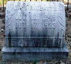 VANCE, JAMES ANDERSON - Perry County, Arkansas | JAMES ANDERSON VANCE - Arkansas Gravestone Photos