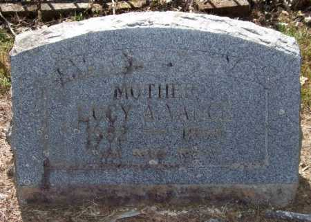 VANCE, LUCY AGNES - Perry County, Arkansas | LUCY AGNES VANCE - Arkansas Gravestone Photos