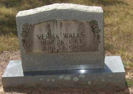 WALLS, VERNA - Perry County, Arkansas | VERNA WALLS - Arkansas Gravestone Photos
