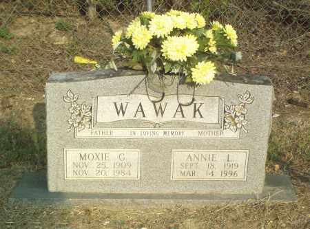 WAWAK, MOXIE G. - Perry County, Arkansas | MOXIE G. WAWAK - Arkansas Gravestone Photos