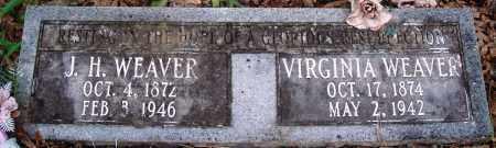 WEAVER, VIRGINIA - Perry County, Arkansas | VIRGINIA WEAVER - Arkansas Gravestone Photos