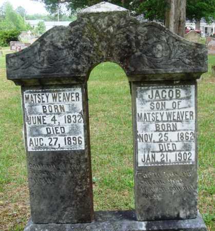 WEAVER, JACOB - Perry County, Arkansas | JACOB WEAVER - Arkansas Gravestone Photos