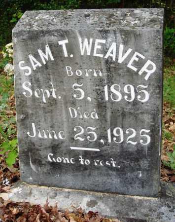 WEAVER, SAM T - Perry County, Arkansas   SAM T WEAVER - Arkansas Gravestone Photos