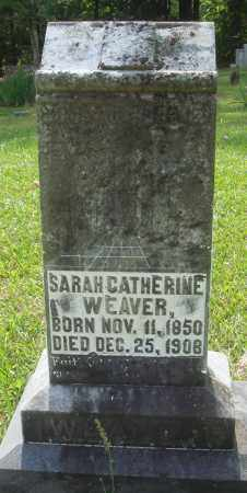 WEAVER, SARAH CATHERINE - Perry County, Arkansas | SARAH CATHERINE WEAVER - Arkansas Gravestone Photos