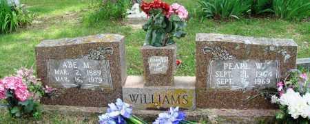 WILLIAMS, ABE M - Perry County, Arkansas | ABE M WILLIAMS - Arkansas Gravestone Photos