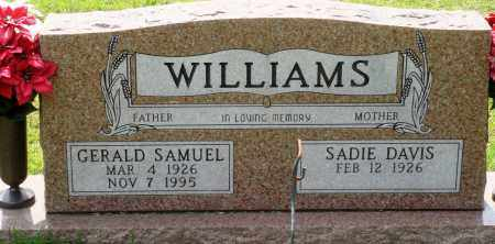 WILLIAMS, GERALD SAMUEL - Perry County, Arkansas | GERALD SAMUEL WILLIAMS - Arkansas Gravestone Photos