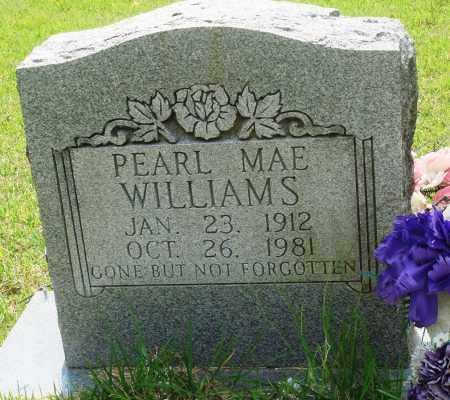 WILLIAMS, PEARL MAE - Perry County, Arkansas   PEARL MAE WILLIAMS - Arkansas Gravestone Photos