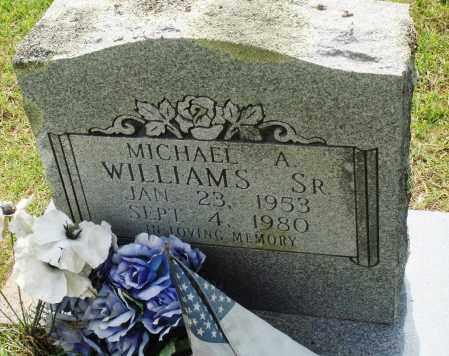 WILLIAMS, SR, MICHAEL A - Perry County, Arkansas | MICHAEL A WILLIAMS, SR - Arkansas Gravestone Photos
