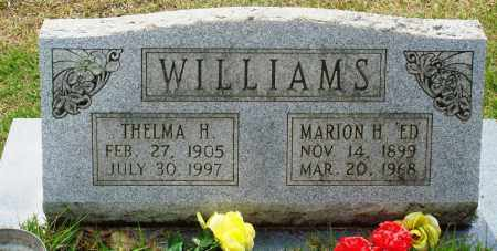 "WILLIAMS, MARION H ""ED"" - Perry County, Arkansas 