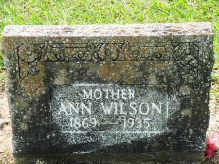 WILSON, ANN - Perry County, Arkansas   ANN WILSON - Arkansas Gravestone Photos