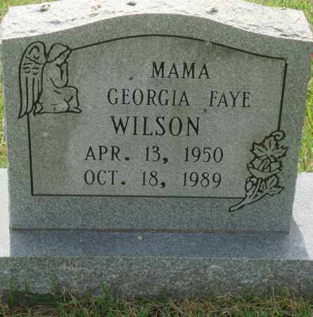 WILSON, GEORGIA FAYE - Perry County, Arkansas | GEORGIA FAYE WILSON - Arkansas Gravestone Photos