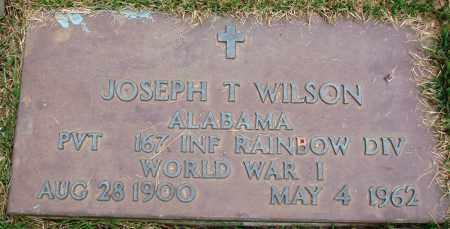 WILSON (VETERAN WWI), JOSEPH T - Perry County, Arkansas | JOSEPH T WILSON (VETERAN WWI) - Arkansas Gravestone Photos