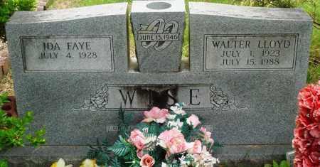 WISE, WALTER LLOYD - Perry County, Arkansas | WALTER LLOYD WISE - Arkansas Gravestone Photos