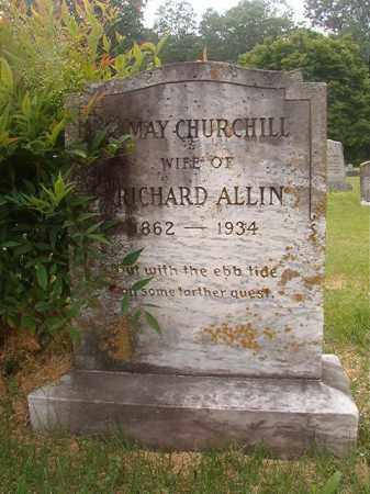 ALLIN, MAY - Phillips County, Arkansas | MAY ALLIN - Arkansas Gravestone Photos