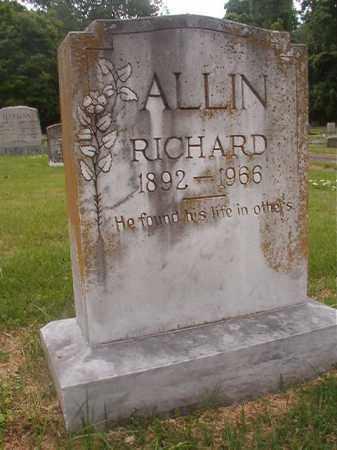 ALLIN, RICHARD - Phillips County, Arkansas   RICHARD ALLIN - Arkansas Gravestone Photos