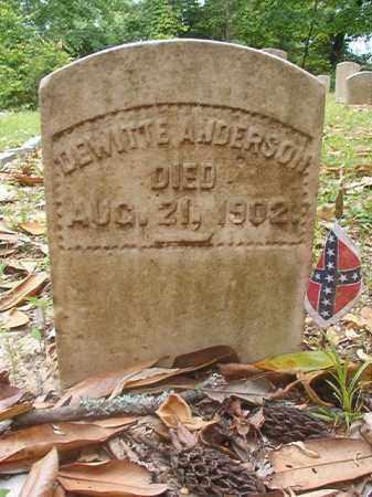ANDERSON, DEWITTE - Phillips County, Arkansas | DEWITTE ANDERSON - Arkansas Gravestone Photos