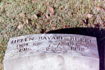 BURKE, HELEN BAYARD - Phillips County, Arkansas   HELEN BAYARD BURKE - Arkansas Gravestone Photos