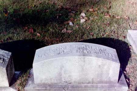 BURKE, JENNIE ELIZABETH - Phillips County, Arkansas   JENNIE ELIZABETH BURKE - Arkansas Gravestone Photos