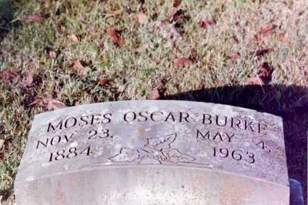 BURKE, MOSES OSCAR - Phillips County, Arkansas | MOSES OSCAR BURKE - Arkansas Gravestone Photos