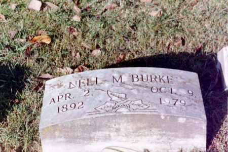 BURKE, NELL M. - Phillips County, Arkansas | NELL M. BURKE - Arkansas Gravestone Photos